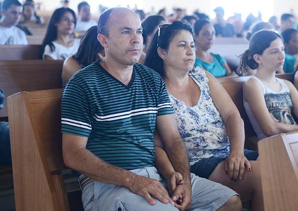 Santa Missa do Acampamento Revolução acontece no Santuário do Pai das Misericóridas - Foto Daniel Mafra/cancaonova.com