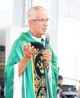 Padre Vagner Baia. Foto: Wesley Almeida/cancaonova.com