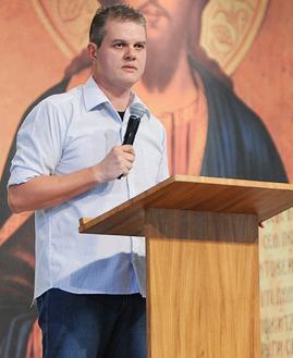 Missionário Canção Nova/ Foto: Daniel Mafra/ cancaonova.com