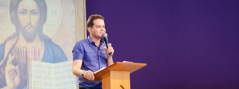 Márcio Mendes Missionário da Canção Nova/ Foto: Wesley Almeida/cancaonova.com
