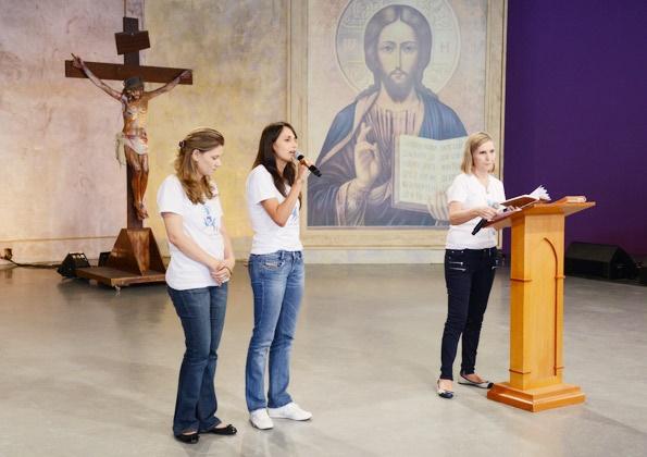 Momento testemunhal: Movimento Mães que oram pelos filhos
