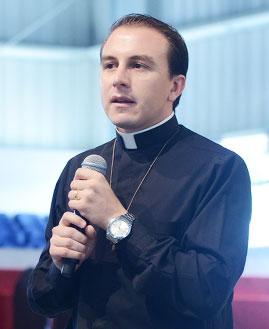 Padre Gevanildo Torres missionário da Comunidade Canção Nova. Foto: Wesley Almedia/cancaonova.com