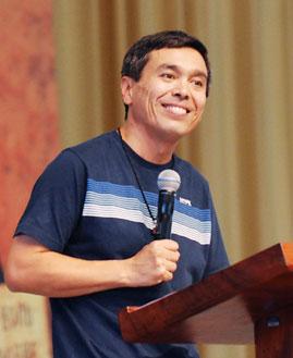 Ricardo Ida, missionário da Comunidade Canção Nova. Foto: Wesley Almedia/cancaonova.com