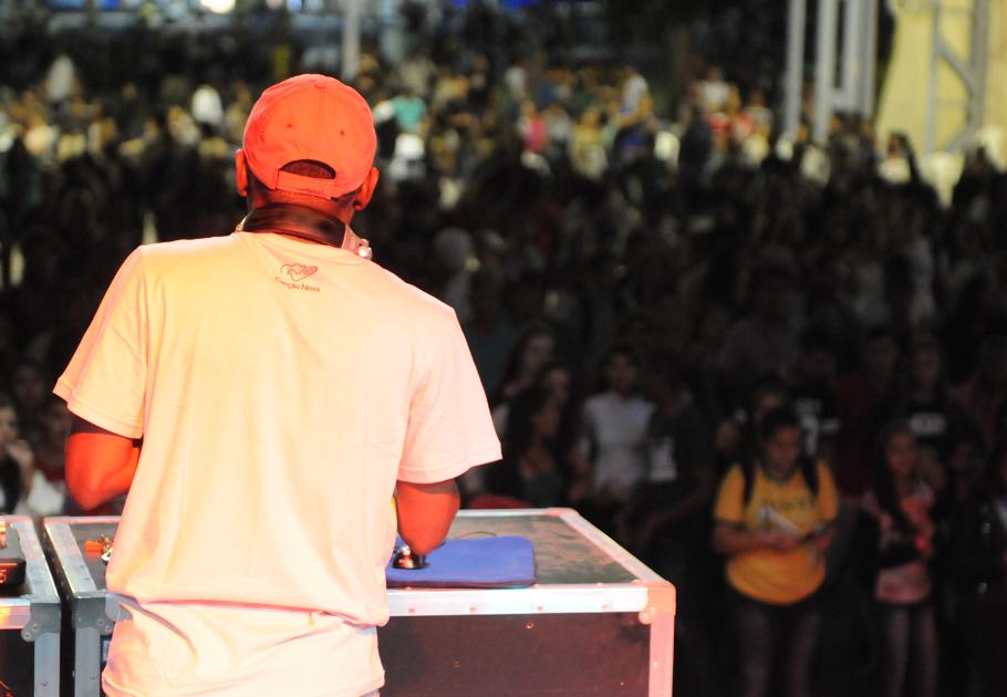 Cleber Rodrigues DJ na Cristoteca