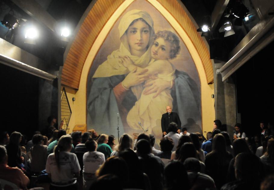 Padre Jorjão fala do Guido na Ermida