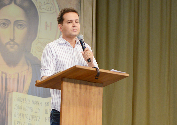 Márcio Mendes. Foto: Arquivo Canção Nova
