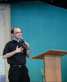 Padre Alexandre Alessio, membro da Congregação da Ressurreição de Nosso Senhor Jesus Cristo. Foto: Arquivo/cancaonova.com