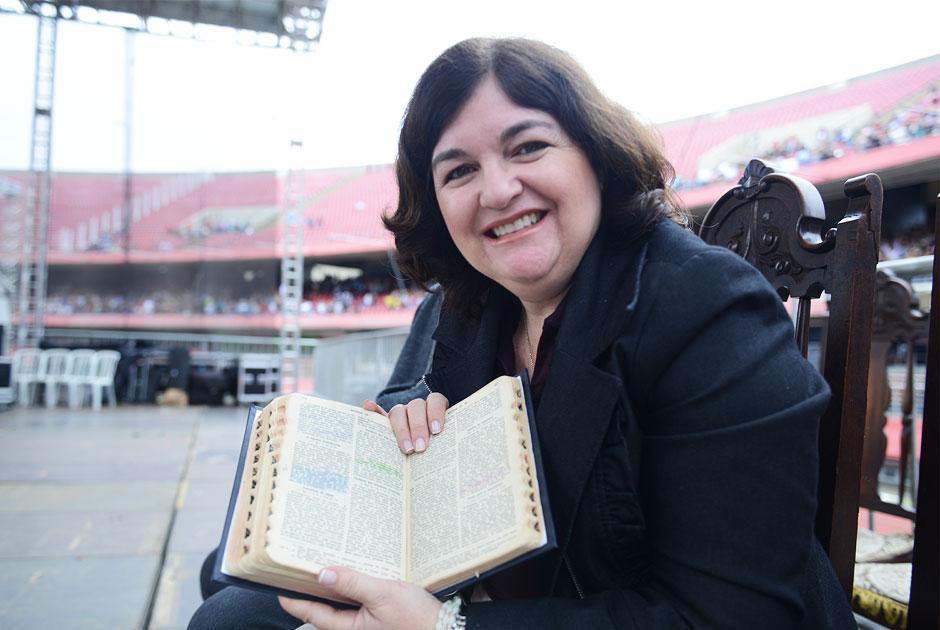 Márcia Correa faz memória ao Cenáculo