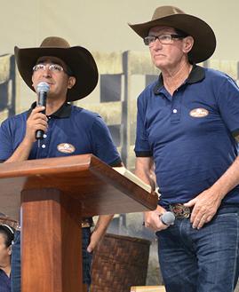 Paulo Eleutério e Geraldo. Foto: Daniel Mafra/cancaonova.com