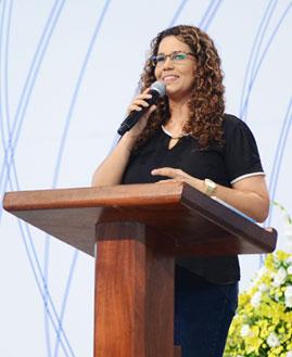 Eliana Ribeiro. Foto: Wesley Almeida/cancaonova.com