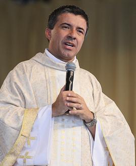 Padre Silvio César. Foto: Arquivo CN.