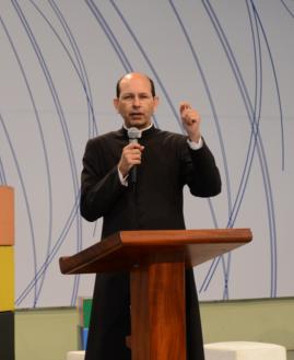 Padre Paulo Ricardo. Foto: Gustavo Borges/cancaonova.com