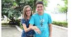 Jovem pede namorada em casamento no Acampamento Revolução Jesus
