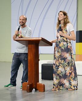 Pregação Adriano e Leticia