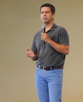 Lúcio Domício. Foto: Daniel Mafra/cancaonova.com