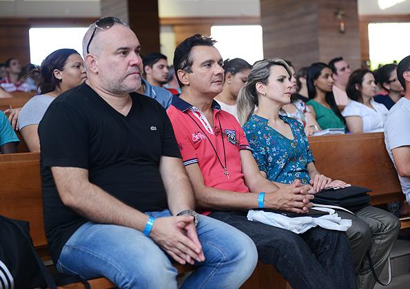Músicos participam da santa missa