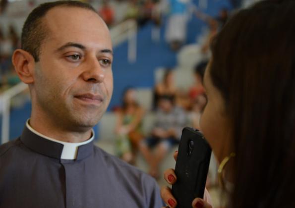 Padre Igor, sacerdote da arquidiocese do Rio de Janeiro/ Foto: Elcka Torres