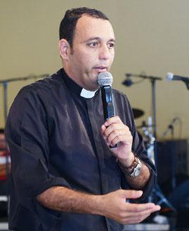 Pe. Dudu Braga. Foto: Wesley Almeida/cancaonova.com