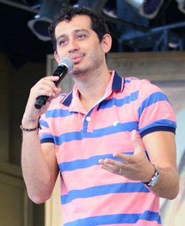 Emanuel Stênio. Foto: Wesley Almeida/cancaonova.com