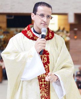 Padre Anderson Marçal - Foto: Wesley Almeida