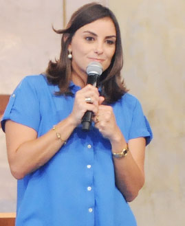 Gabrielle Sanchotene. Foto: Wesley Almeida/cancaonova.com