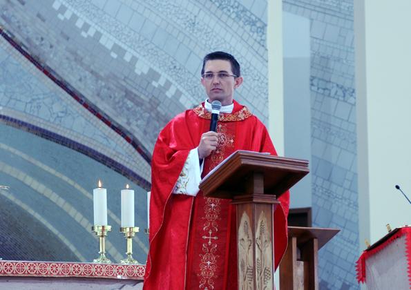 Padre João Marcos / Foto: Regiane Calixto