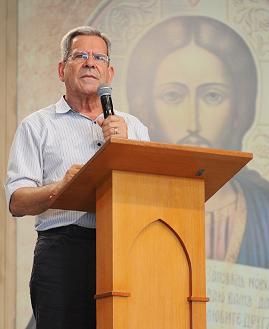 Prof. Felipe Aquino. Foto: Daniel Mafra/cancaonova.com