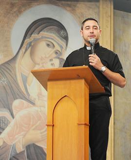 Pe. Fábio Camargos. Foto: Daniel Mafra/cancaonova.com