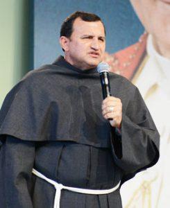 Frei Josué. Foto: Arquivo cancaonova.com