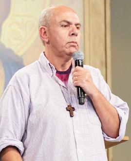 Tônio (Fundador Com.Jesus Menino). Foto: Wesley Almeida/cancaonova.com
