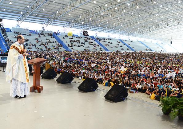 Acampamento PHN 2016, homilia da Santa Missa com Padre Paulo Ricardo. Foto:WesleyAlmeida/cancaonova.com
