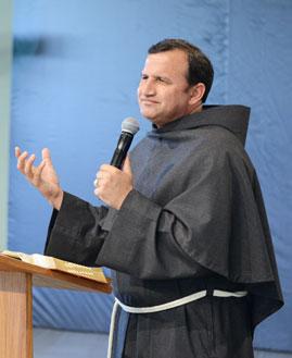 Frei Josué Pereira Foto: Arquivo/cancaonova.com