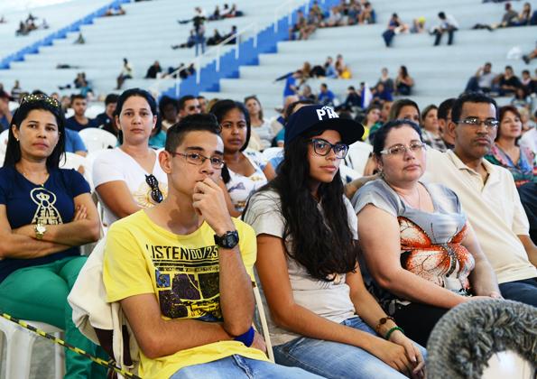"""""""Aproximar-se de Deus, vai nos mostrando realmente quem nós somos"""". Foto: Wesley Almeida/cancaonova.com"""