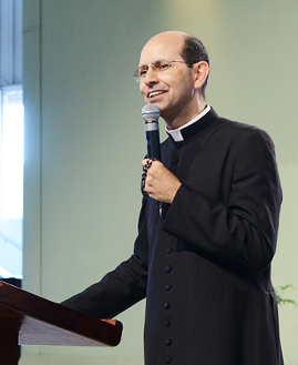 Padre Paulo Ricardo. Foto: Wesley Almeida/cancaonova.com