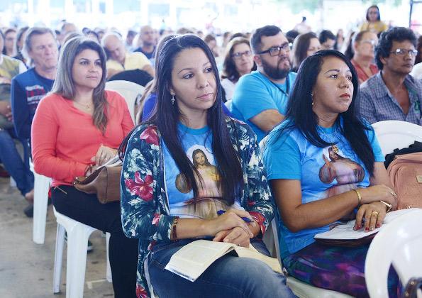"""""""Nossos pecados são limitados, mas a misericórdia de Deus é infinita"""" Padre João Marcos Polak. Foto: Wesley Almeia/cancaonova.com"""