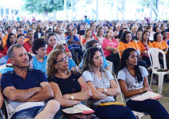 Precisamos ter a palavra na ponta de nossas vidas, mais do que na ponta de nossas línguas. Foto: Wesley Almeida/canacaonova.com