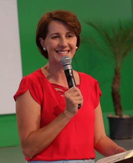 Marelena Cardoso. Foto: Paula Dizaró/cancaonova.com