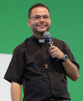 Pe. Arlon Cristian. Foto: Paula Dizaró/cancaonova.com