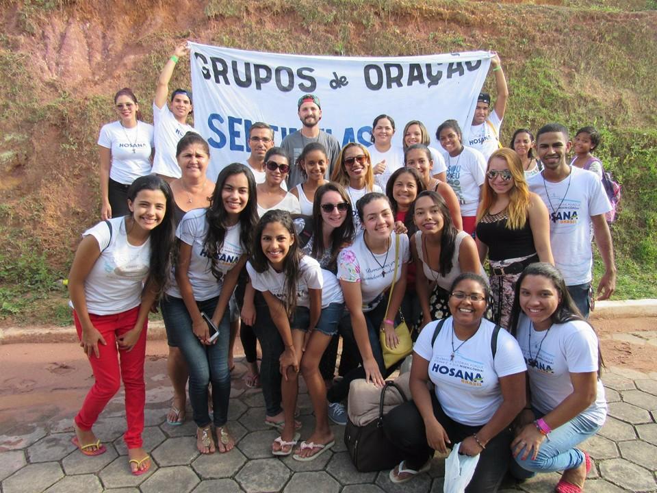Grupo de Oração Sentinelas de Cristo - Hosana Brasil 2015