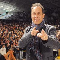 Dunga idealizador do PHN recebeu o Canal da música e participou do bate-papo com o músico. Foto: ArquivoCN/cancaonova.com