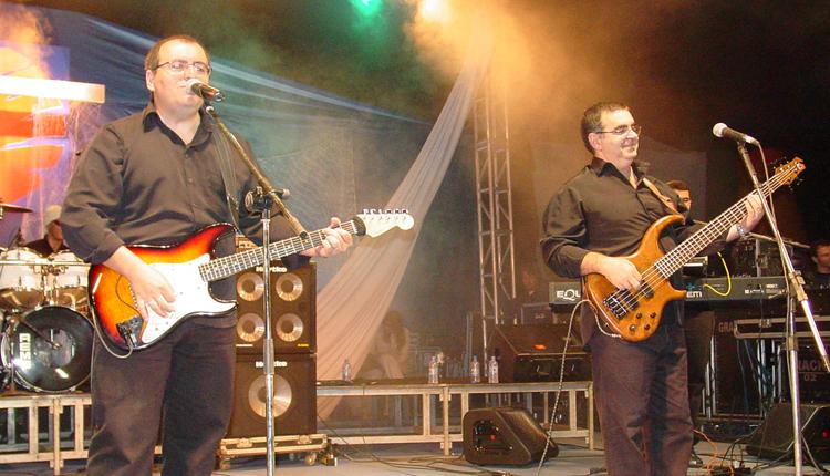 Primeira formação da Banda Anjos de Resgate com o vocalista Dalvimar Gallo. Foto: Arquivo/cancaonova.com