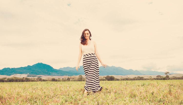 Ticiana Souza considera Deus, família, amigos e música essenciais para a sua vida. Foto: Arquivo.