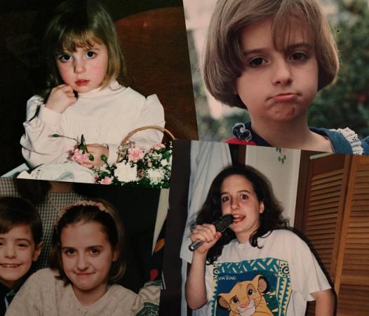 Audrey Assad na sua infância e adolescência / Fotos: Internet