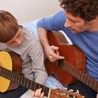 O Dia dos Pais de alguém que é pai, músico e evangelizador