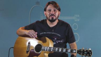 Programa Casa do Músico com a canção: Não dá mais pra voltar