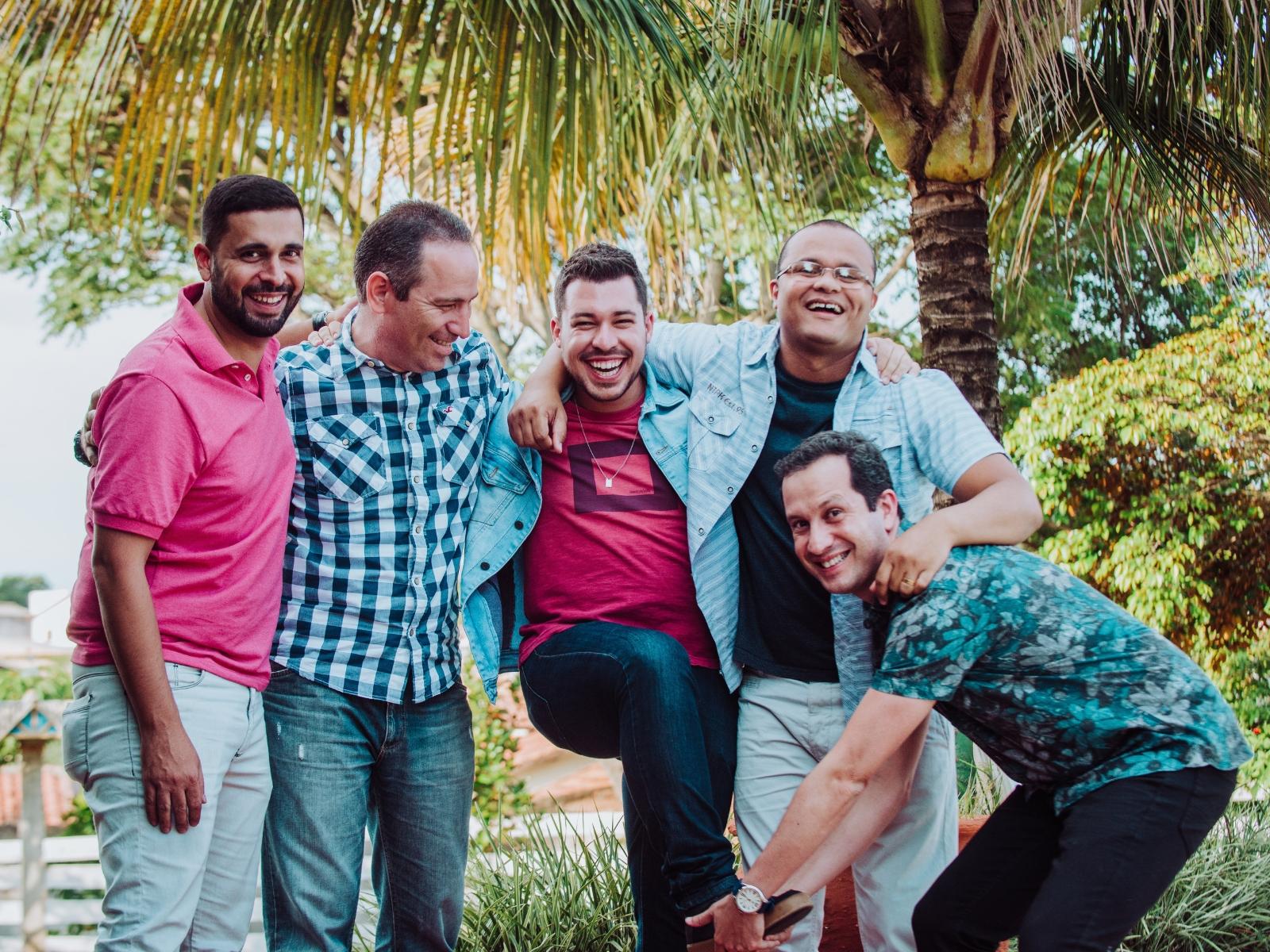 Rodrigo Hoelz, Roger Carvalho, Pedro Pinheiro, Carlos Tocco e Cristian Lopes