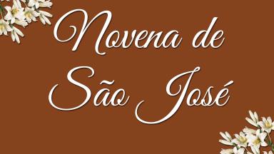 Gravadora Canção Nova realiza Novena de São José