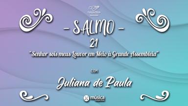 Melodia Salmo 21 | 5º Domingo da Páscoa