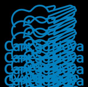 Clube da Evangelização azul