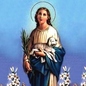 Santo do dia: Santa Inês, modelo de pureza